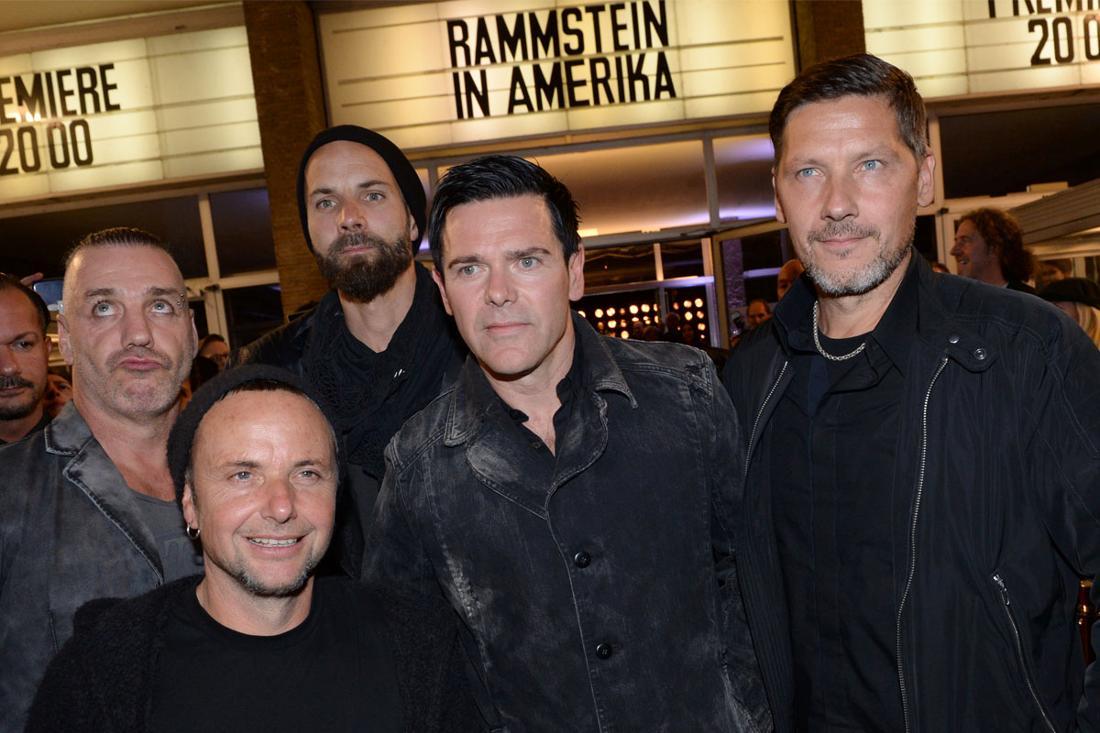 Rammstein: Fünf von sechs Bandmitgliedern der Band Rammstein
