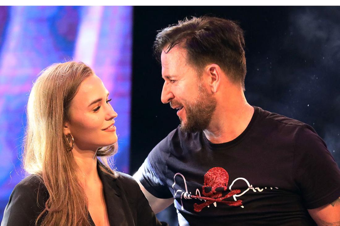 Schlager: Michael Wendler und Freundin Laura Müller bei einem gemeinsamen Auftritt