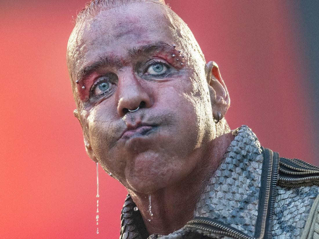 Rammstein-Frontmann Till Lindemann.