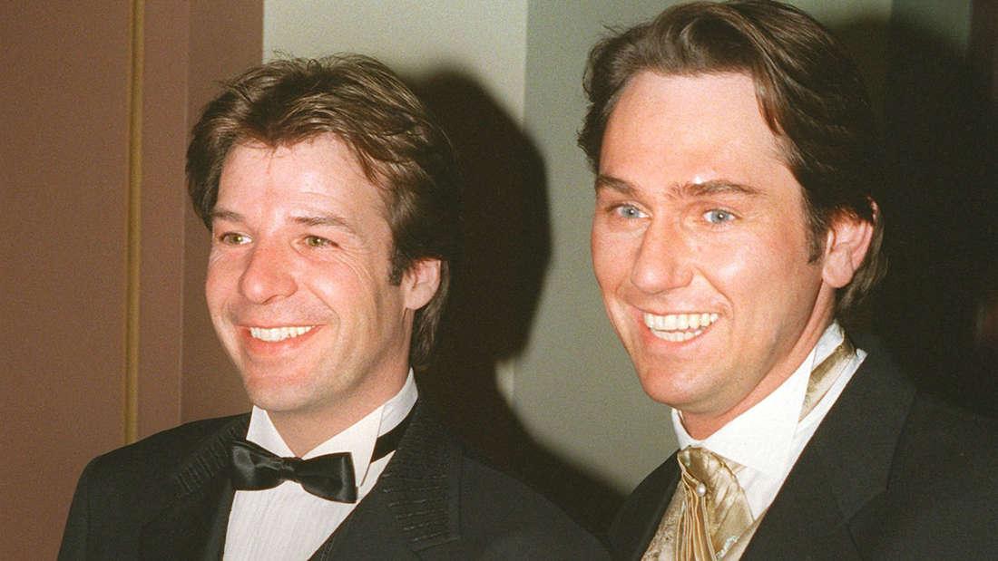 Waren bis 2005 ein Paar: Patrick Lindner und Michael Link (rechts).