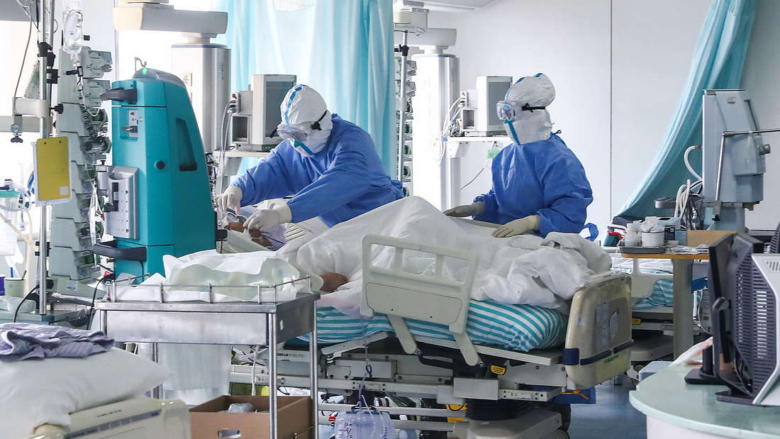 Die Sicherheitsvorkehrungen wegen des Coronavirus sind in China extrem hoch.