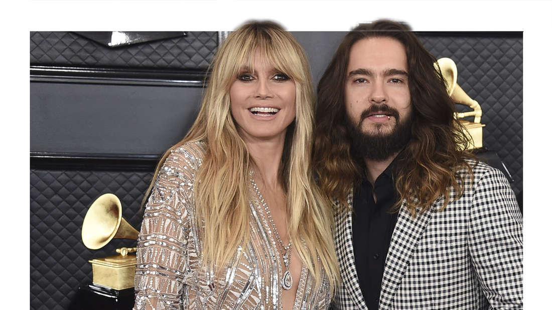 GNTM: Moderatorin und Jurorin Heidi Klum mit Ehemann Tom Kaulitz