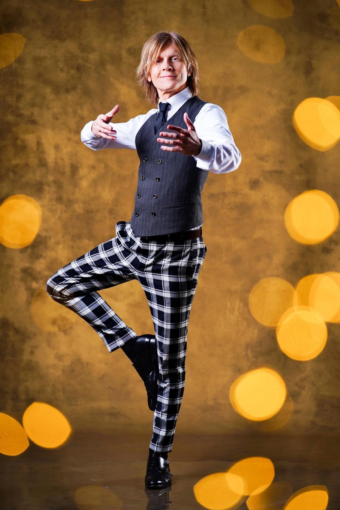 John Kelly hat seine Begabung zum Tanzen bereits bei der Show Dancing on Ice gezeigt.