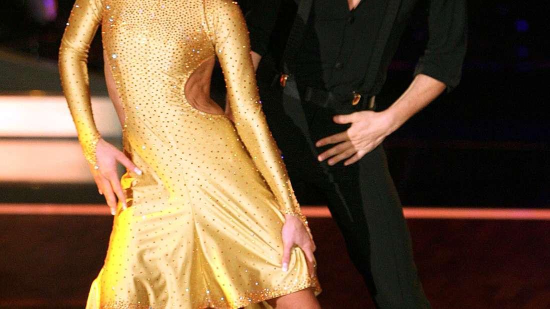 """Wayne Carpendale und Isabel Edvardsson bei """"Let's Dance"""" 2006."""