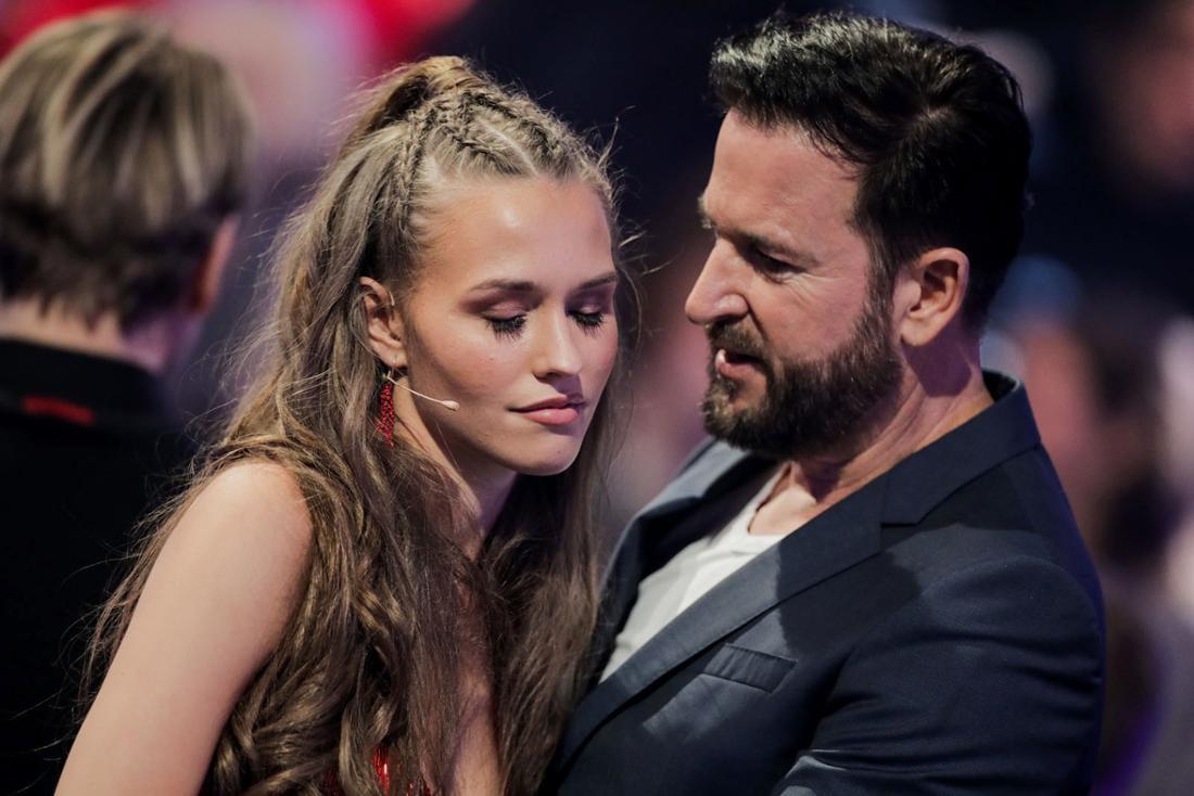 Schwer verliebt: Laura Müller und ihr Schatzi Michael Wendler.