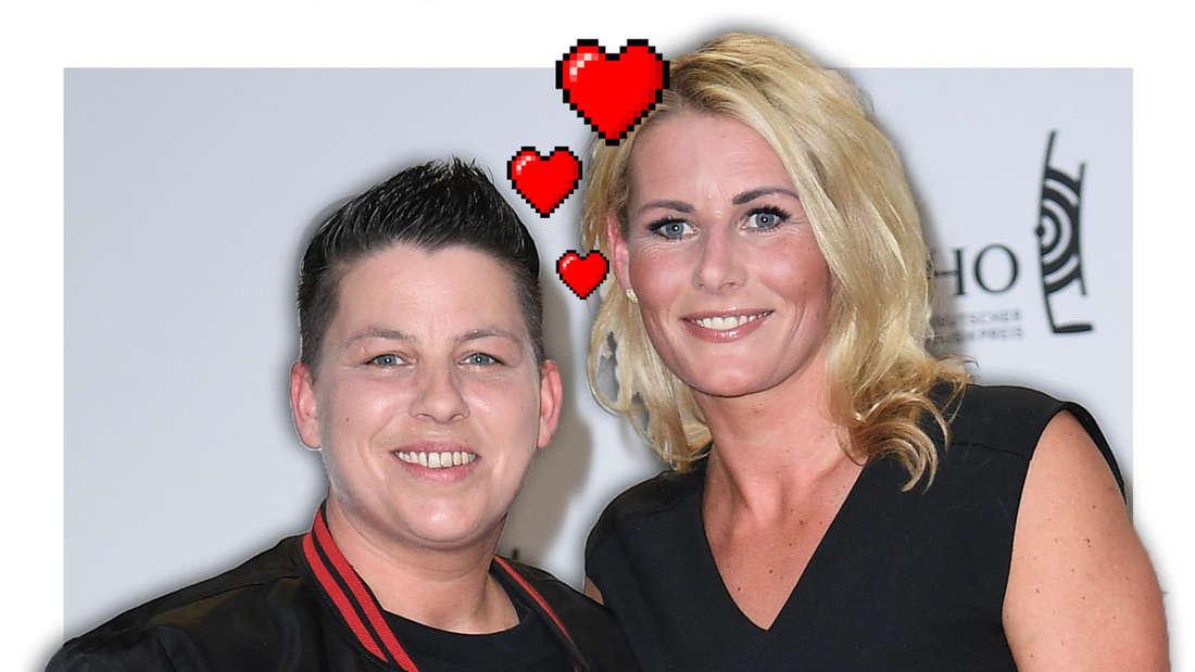 Ein Herz und eine Seele: Kerstin und Karolina Ott.