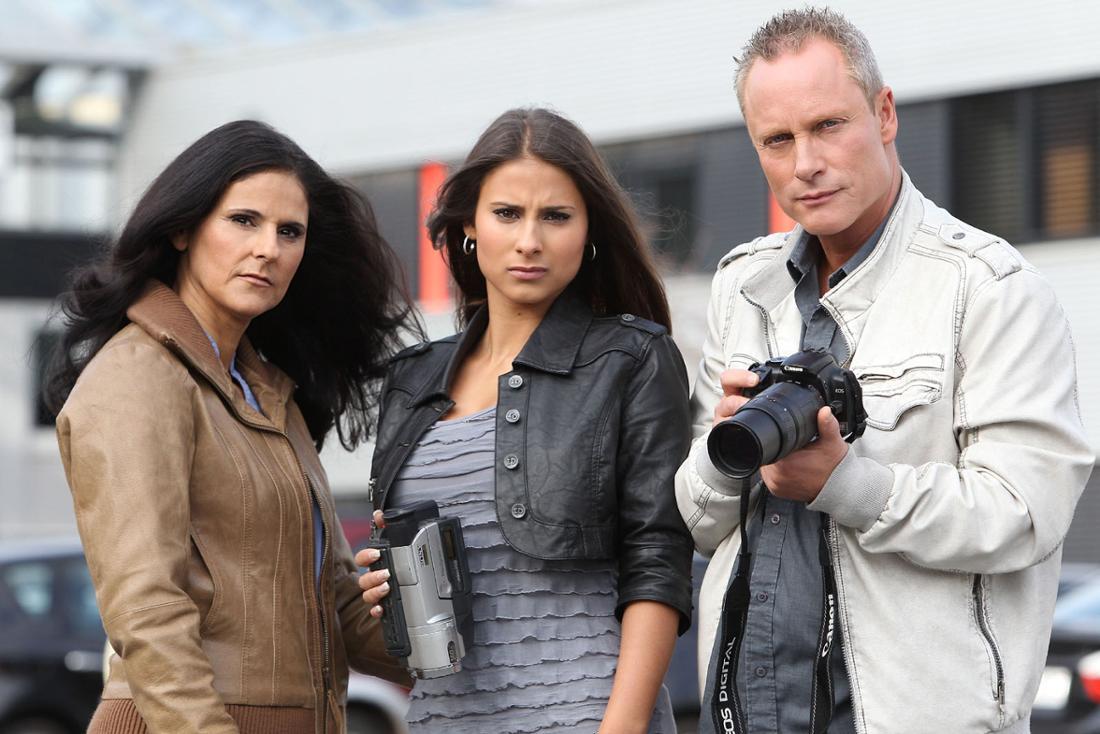 Marta, Sharon und Jürgen sind die Trovatos.