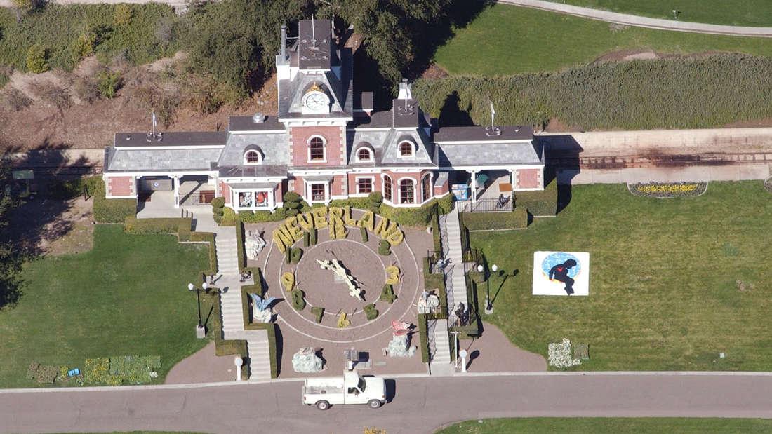 Der Bahnhof der Neverland-Ranch von Michael Jackson.
