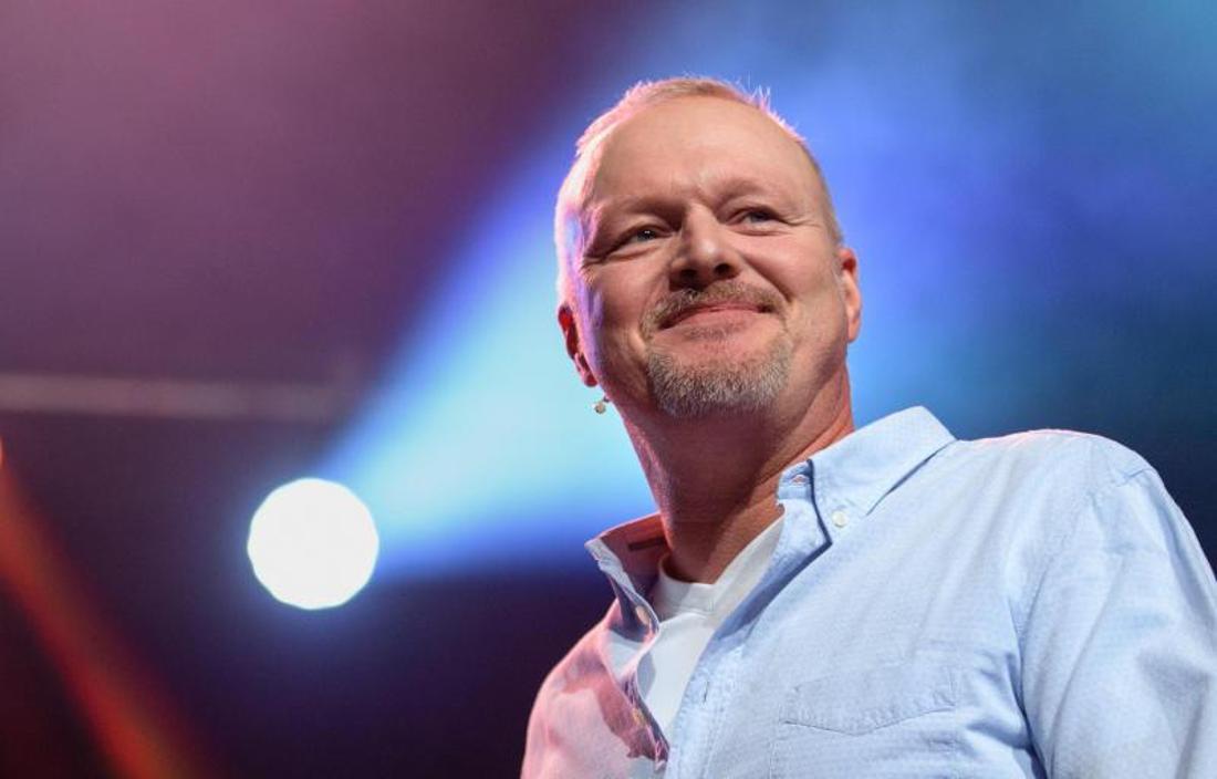 Der Moderator, Entertainer und ESC-Teilnehmer Stefan Raab.