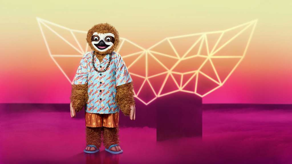 "Das Faultier bei ""The Masked Singer""."