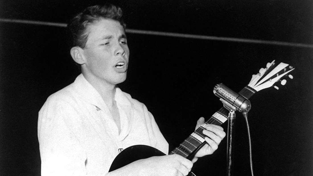 Teeniestar Peter Kraus Ende der 1950er Jahre.
