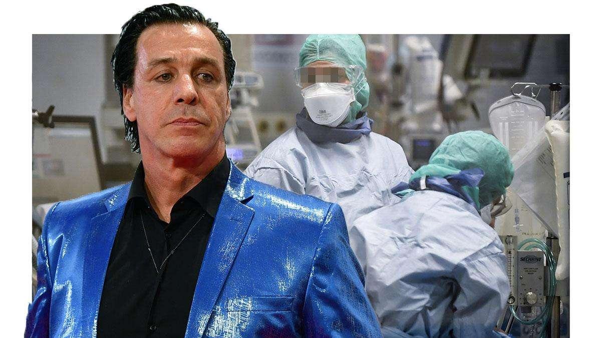 Till Lindemann Krankenhaus