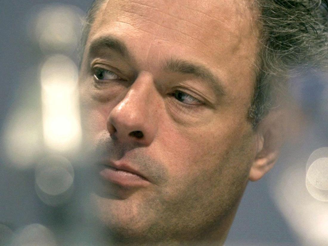 Ronald Schill, hier ein Archivbild aus dem Jahr 2002, war mal Innensenator von Hamburg.