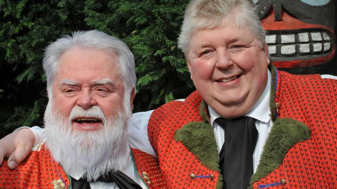 Die Wildecker Herzbuben Wilfried Gliem (links) und Wolfgang Schwalm.
