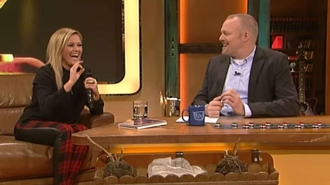 Schlager: Stefan Raab will Helene Fischer vor laufender Kamera bloßstellen - doch sie reagiert unerwartet