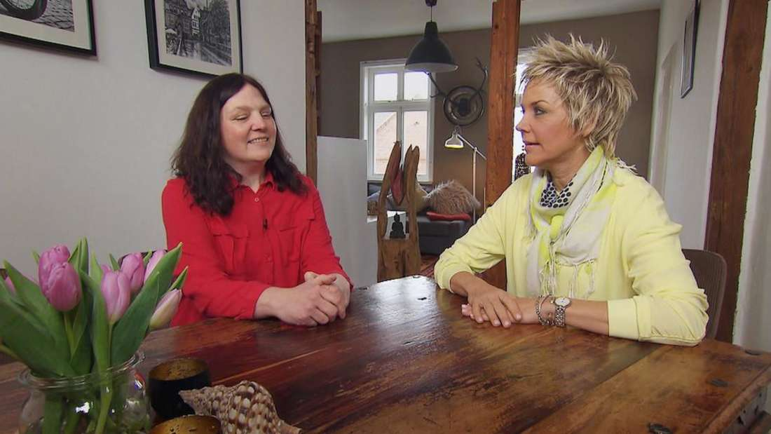 RTL-Teilnehmerin Tanja schüttet Inka Bause ihr Herz aus