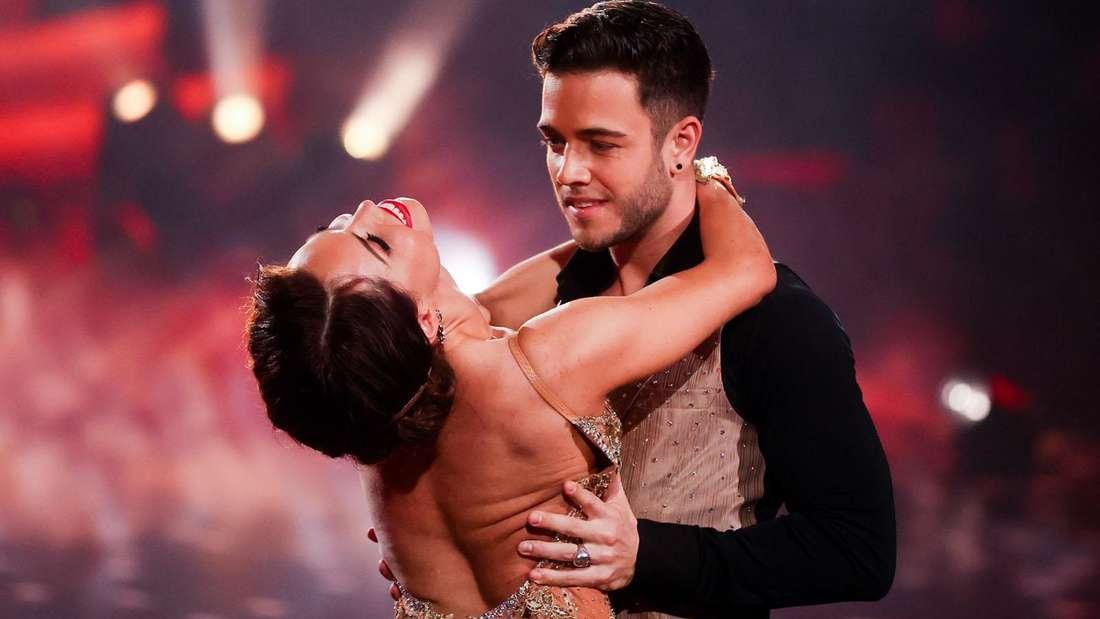 Let's Dance: Luca Hänni und Christina tanzen leidenschaftlich in der RTL-Show