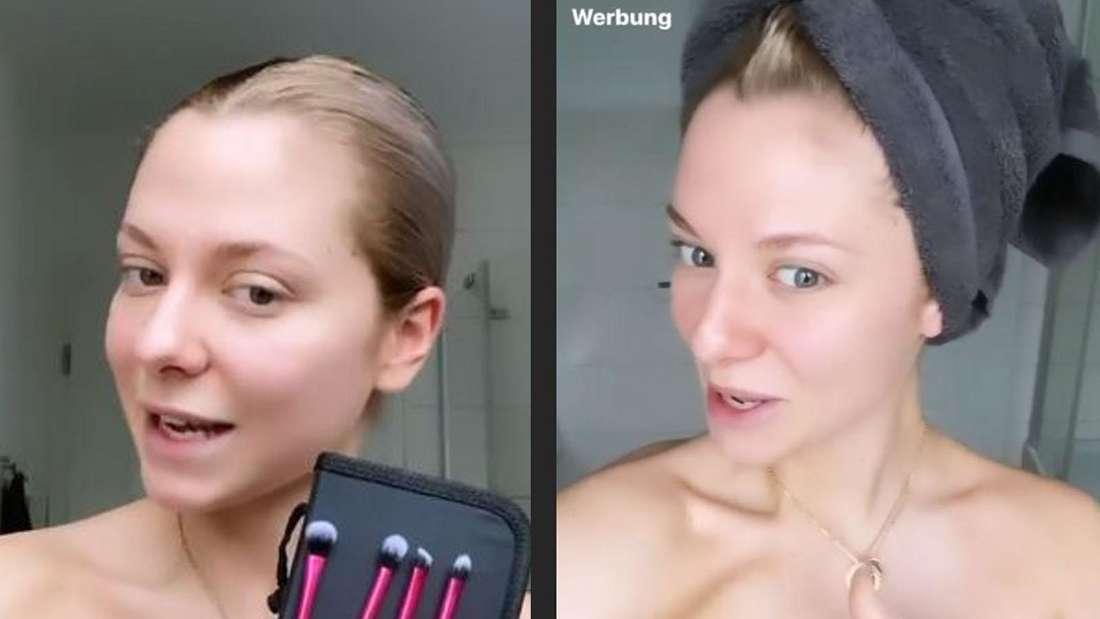 Macht auch ungeschminkt eine gute Figur: GZSZ-Star Valentina Pahde.