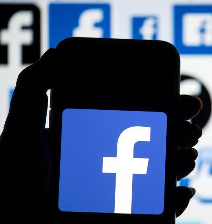 Das Logo von Facebook.