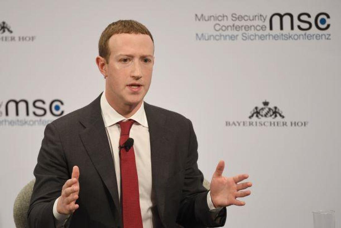 Mark Zuckerberg, der Gründer des Unternehmens Facebook.