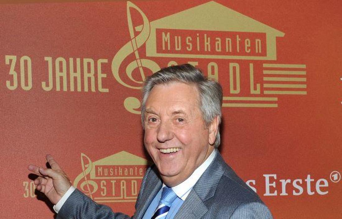 Karl Moik, der Moderator der Sendung Musikantenstadel.
