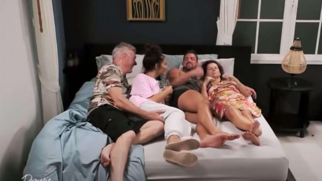 Promis unter Palmen (Sat.1): Janine Pink und Tobi landen im Bett - Zuschauer fassungslos