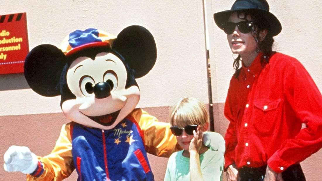 Michael Jackson und mit dem Kinderstar Macaulay Culkin.