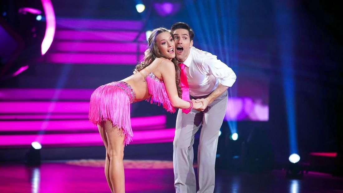 "Laura Müller tanzt mit Christian Polanc bei ""Let's Dance"""