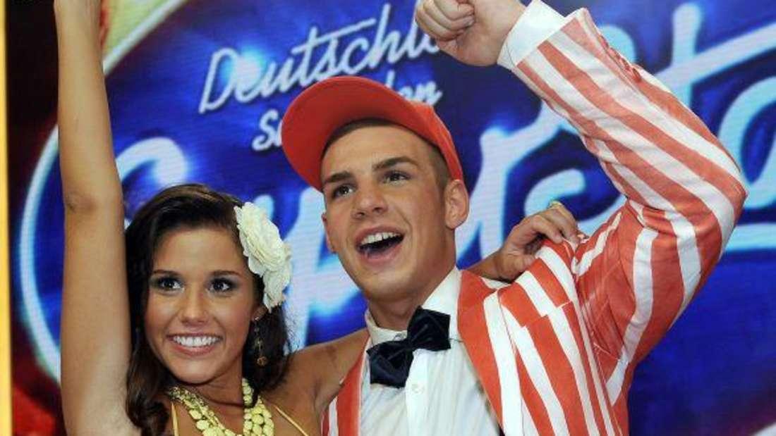 Sarah Engels und Pietro Lombardi im Finale von DSDS im Jahr 2011.