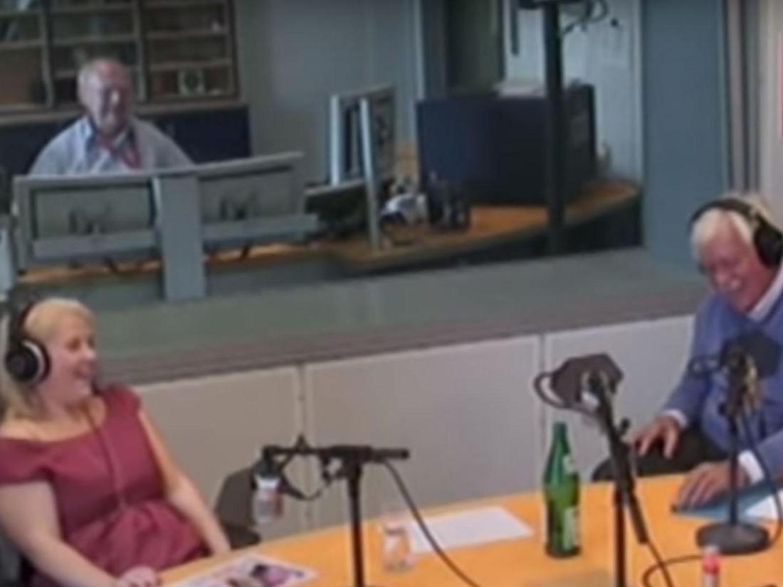 Schlagersängerin Maite Kelly in der Radiosendung mit Carlo von Tiedemann