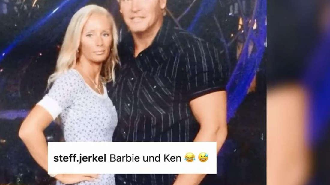 Richtig: An Barbie und Ken.