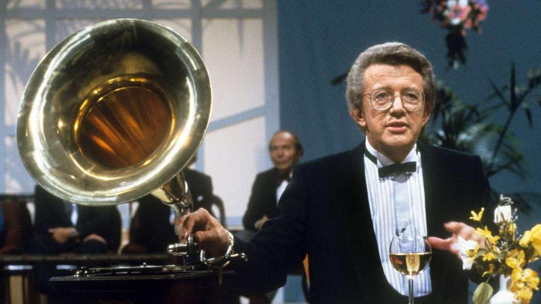 Auch aus den 80ern - hier 1984 - war Schlagersänger und Entertainer Dieter Thomas Heck nicht wegzudenken.