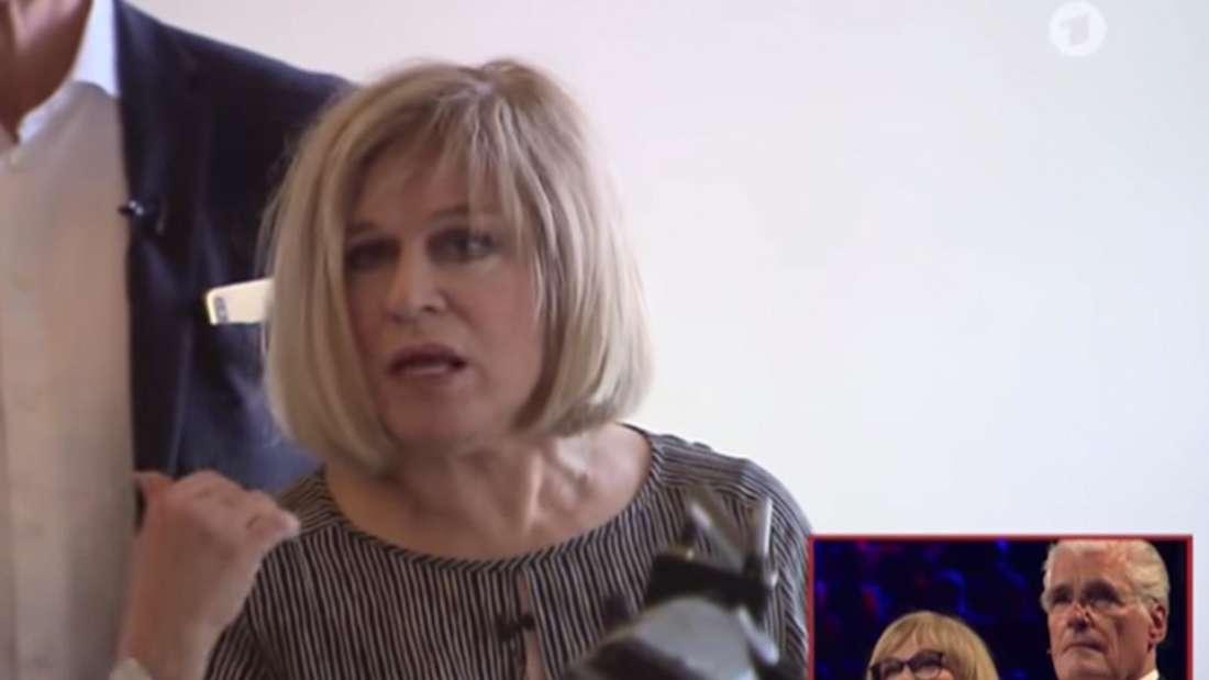 Schlagerstar Mary Roos legt sich lautstark mit Beamten des Ordnungsamtes an.