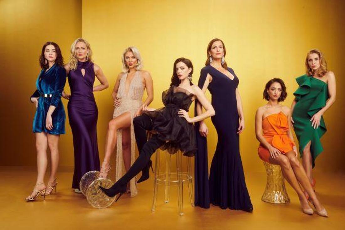 Einige der Schauspielerinnen bei GZSZ (RTL).
