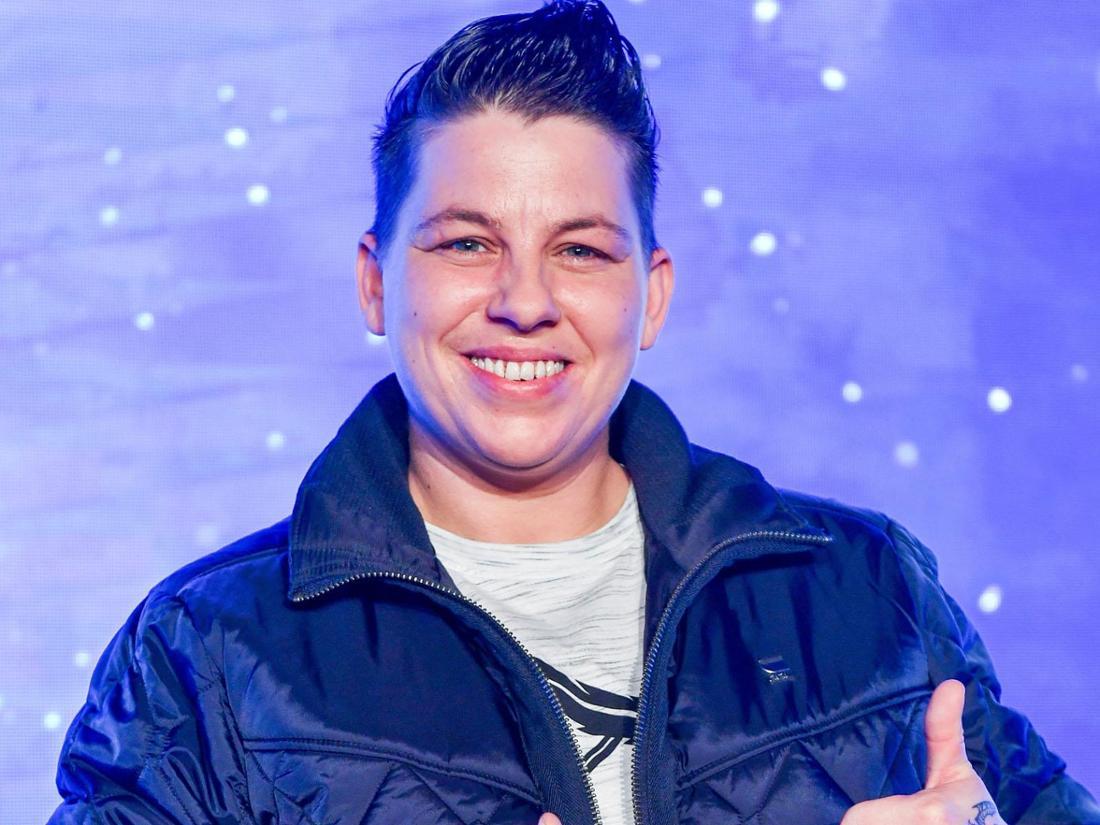 """Sängerin Kerstin Ott bei der Vorstellung des neuen Albums """"Alle Winter wieder""""."""