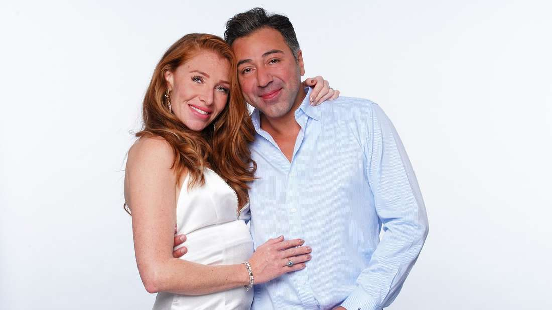 Reality-TV-Star Georgina Fleur mit ihrem Verlobten Kubilay Özdemir