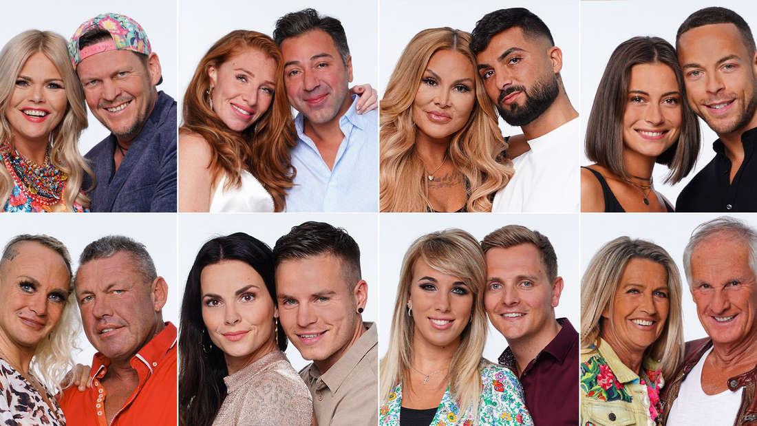 Sommerhaus der Stars: Porträts der acht Promipaare der Staffel von 2020 auf RTL