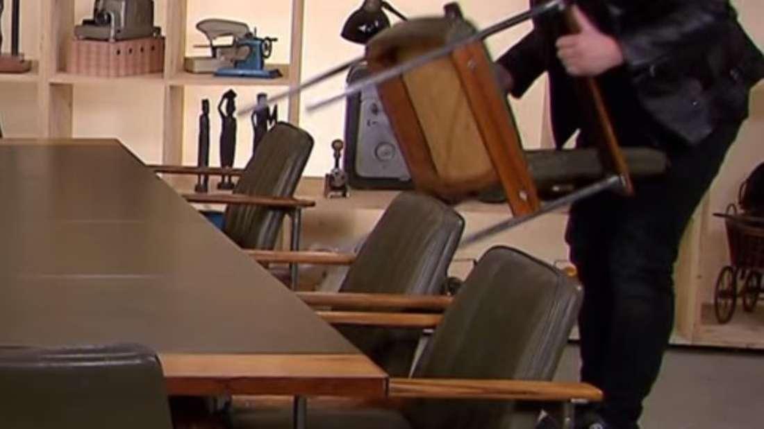 """""""Bares für Rares"""": Die alten Möbelstücke sind ein kleines Vermögen wert."""