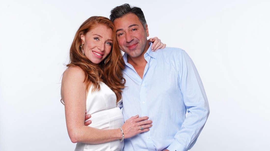 Georgina Fleur und Kubi Özdemir posieren gemeinsam für RTL