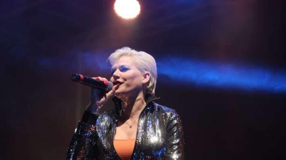 """Melanie Müller, eine der Kandidatinnen bei """"Like me I'm famous"""" (RTL)."""