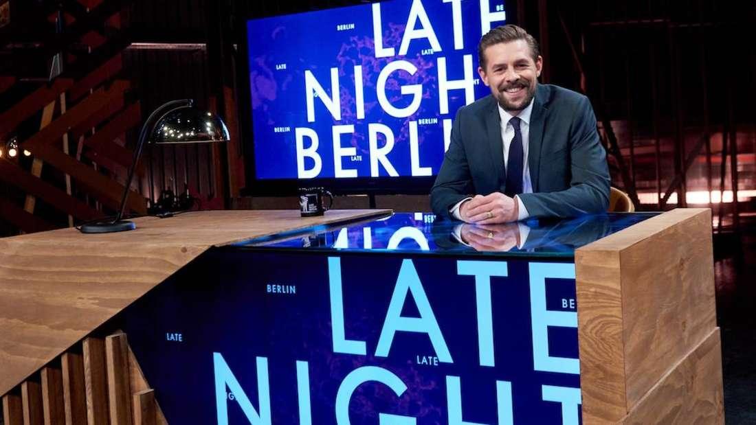 "Klaas Heufer-Umlauf bei ""Late Night Berlin"""