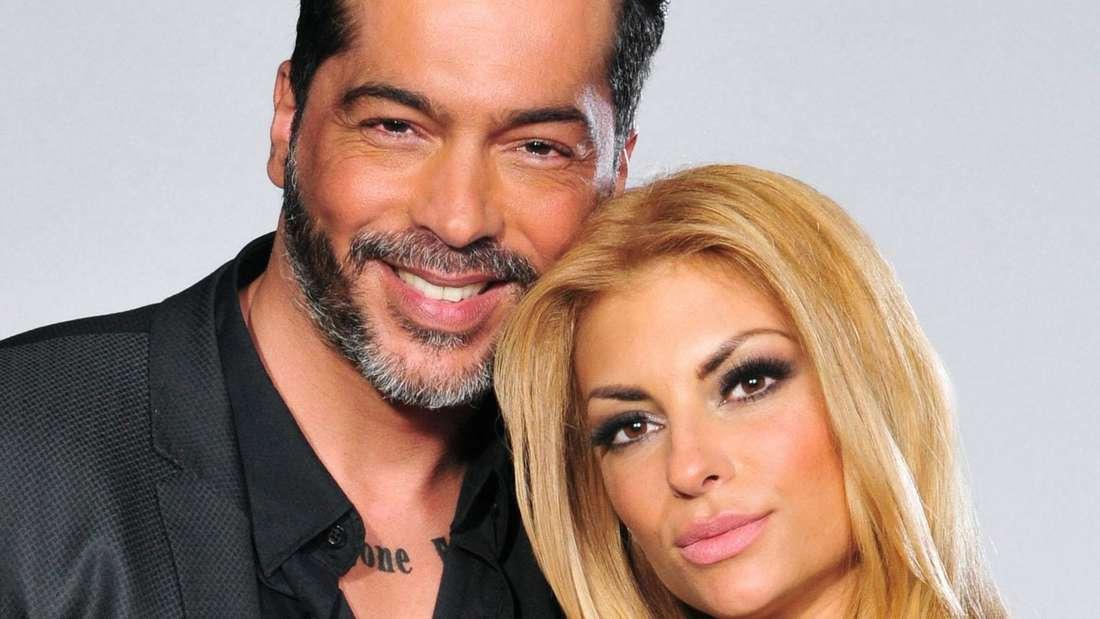 "Model und ""Bachelorette""-Macho Aurelio Savina und Freundin Lisa Freidinger."
