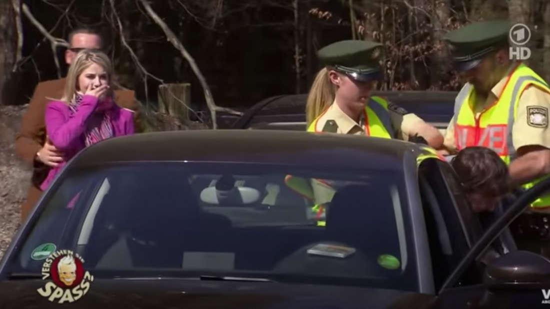 Beatrice Egli ist sichtlich geschockt, als ihr vermeintlicher Stalker verhaftet wird.