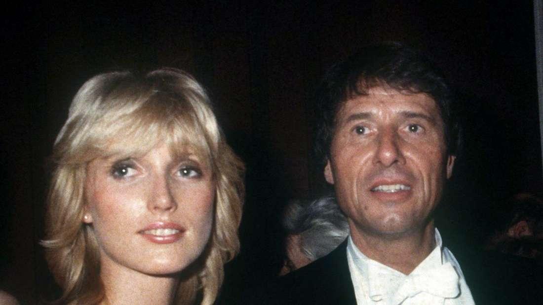 Udo Jürgens mit seiner damaligen Freundin und späteren zweiten Ehefrau Corinna