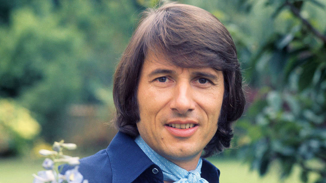 Der Schlagersänger Udo Jürgens im Jahr 1974