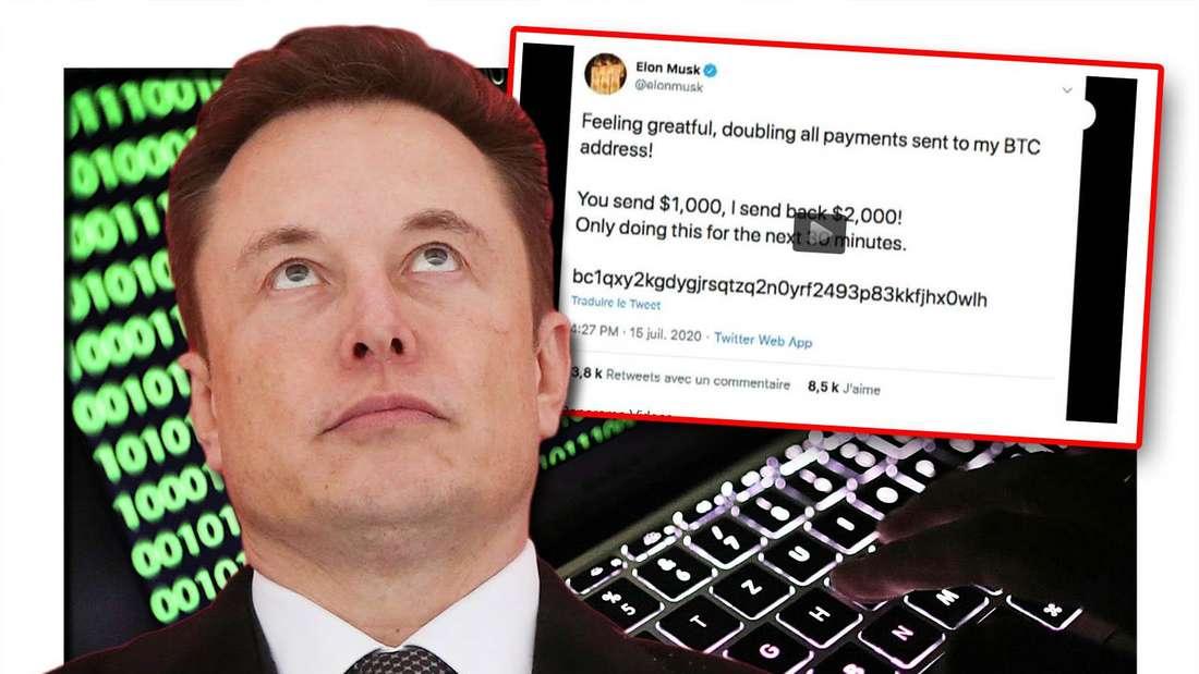 Elon Musk wurde Opfer eines Hackerangriffs bei Twitter.
