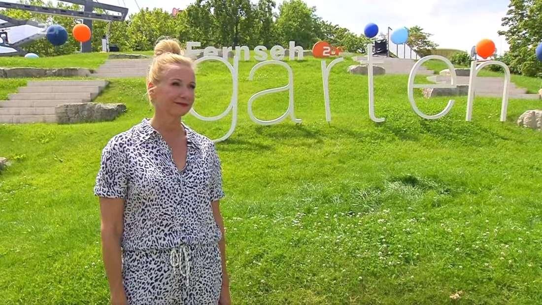 ZDF-Fernsehgarten: Andrea Kiewel stoppte mitten in der Liveshow die Moderation.