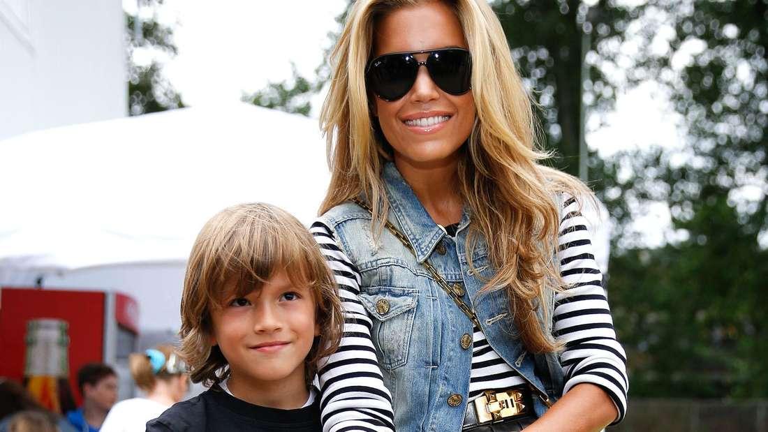 Sylvie Meis mit ihrem Sohn Damian 2013