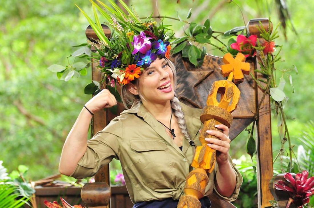 Jenny Frankhauser wurde 2018 zur Dschungel-Königin gekürt