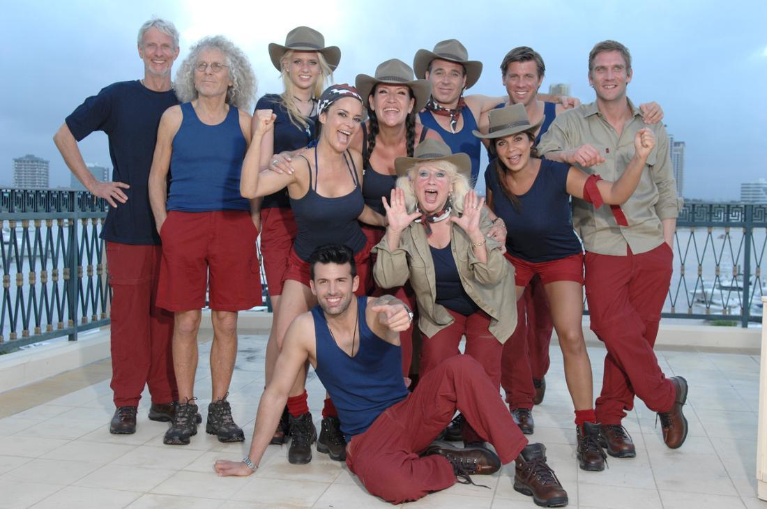 Die Teilnehmer der fünften Staffel der RTL-Show, «Ich bin ein Star - Holt mich hier raus!»